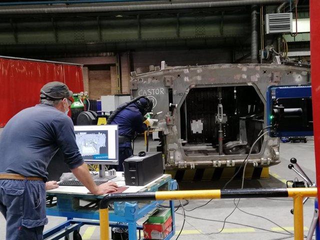 Fabrica de Armas de Trubia. Industria. Trabajadores industria. Empleo. Sector industrial.