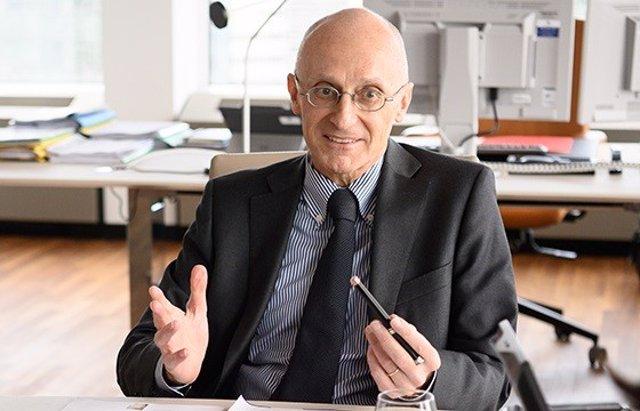 El presidente del Consejo de Supervisión del BCE, Andrea Enria.