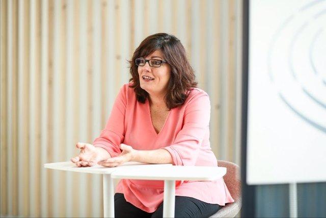"""Isabel García (PSOE): """"El Fondo de Transición Justa supondrá una granoportunidad para Aragón""""."""