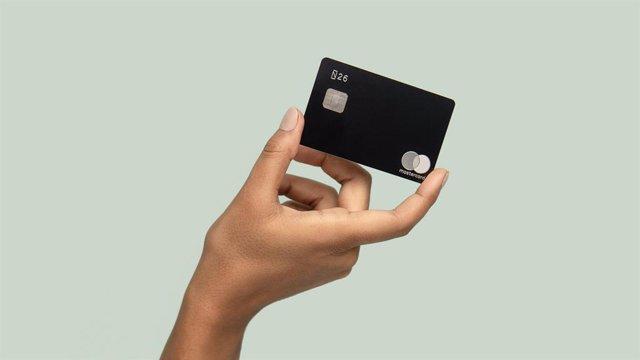 Foto recurso del banco móvil N26