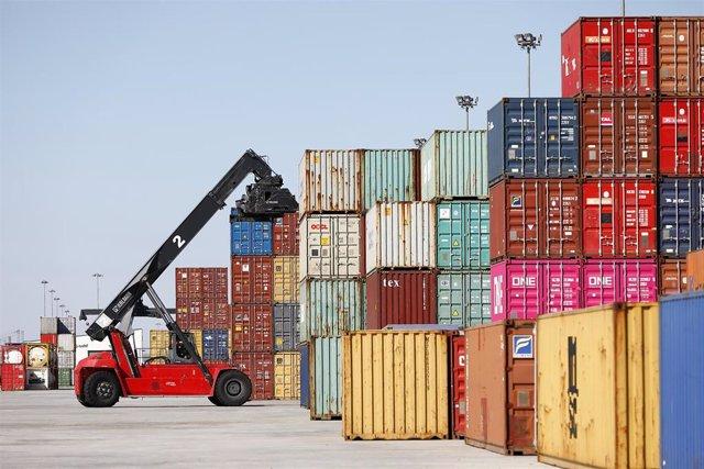 Exportaciones a China desde la terminal intermodal de Plaza.