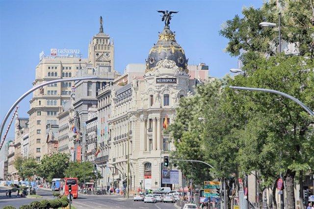 Foto de recurso de la ciudad de Madrid.
