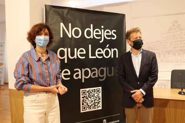 Susana Travesí y Enrique Suárez.