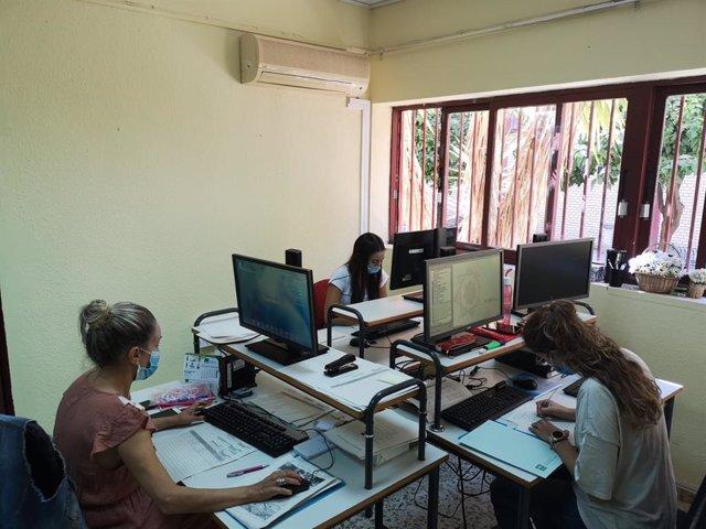 Imagen del centro telefónico del Distrito Huelva-Costa.