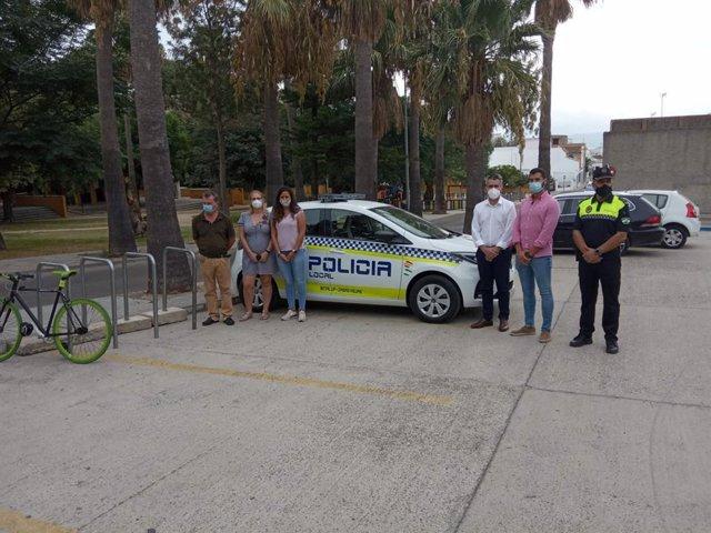 Coche eléctrico para la Policía Local entregado en Benalup
