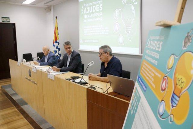 Presentació del programa d'ajudes a persones grans de l'Ajuntament de Badalona, el 15 de setembre de 2020 (horitzontal)