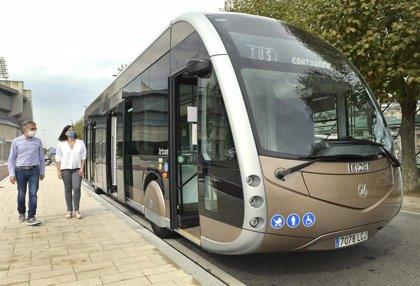 Santander prueba un autobús eléctrico gratuito para los viajeros hasta el día 23