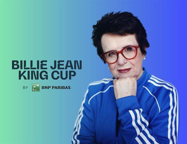 Tenis.- La Copa Federación pasa a llamarse Copa Billie Jean King en homenaje a l