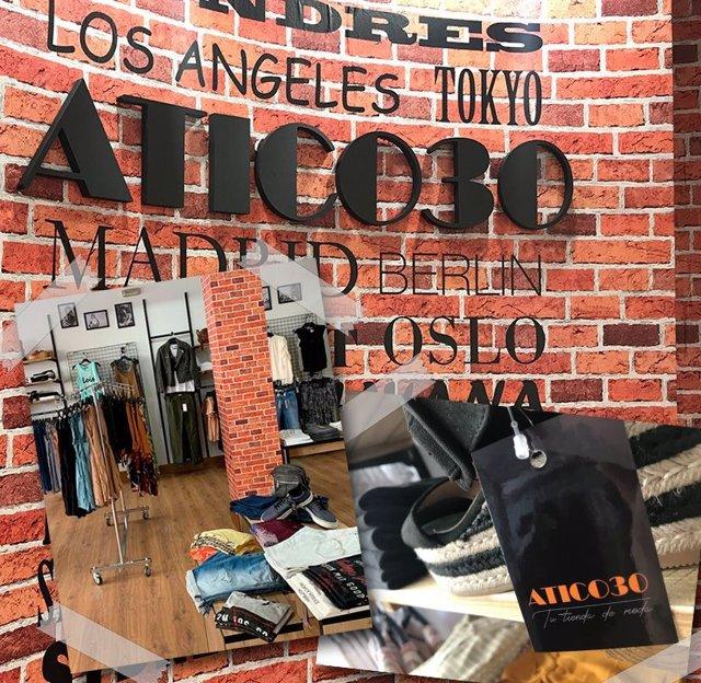 Detalles de tiendas Atico30