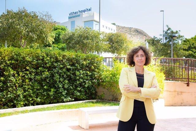 Victoria Verdú directora territorial de Comunidad Valenciana y Cataluña de Vithas.