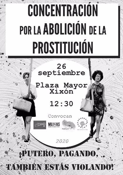 Convocada una concentración en Gijón, el día 26, para reclamar la abolición de la prostitución