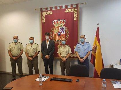 Gobierno de Aragón y Defensa se coordinan para avanzar en los Objetivos de Desarrollo Sostenible (ODS)