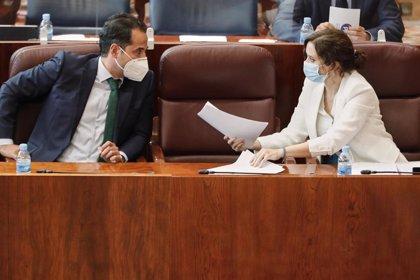 """Aguado aplaude el ofrecimiento de Sánchez a Ayuso de mantener una reunión y pide """"aparcar diferencias"""""""