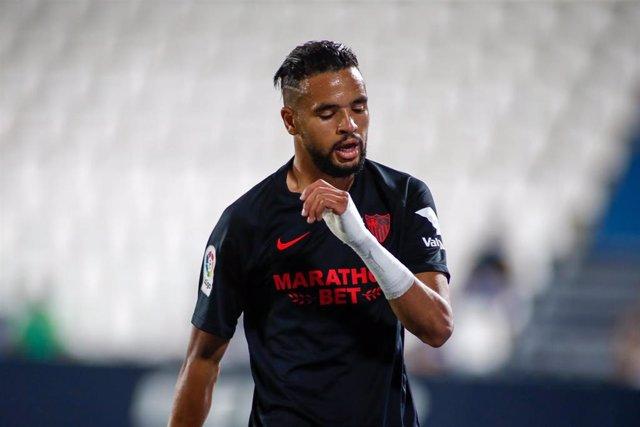 Youssef En-Nesyri, delantero del Sevilla