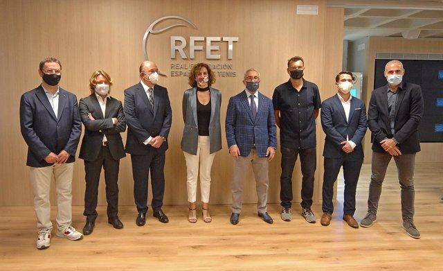 Tenis.- La Real Federación Española de Tenis (RFET) inaugura su nueva sede en pr