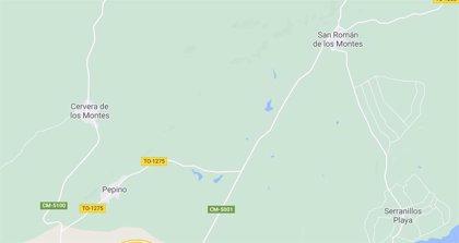 Fallecen dos hombres tras sufrir un accidente de tráfico en un camino en Pepino (Toledo)