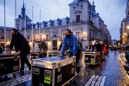 """Miles de personas salen a la calle para reclamar medidas de """"supervivencia"""" para la música en España"""