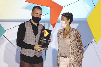 """Chivite destaca el """"innegable talento"""" del músico Iván Carmona, Premio a la Promoción al Talento Artístico"""