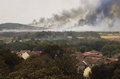 Todos los incendios de Ourense, controlados o extinguidos, con una superficie afectada superior a 7.500 hectáreas