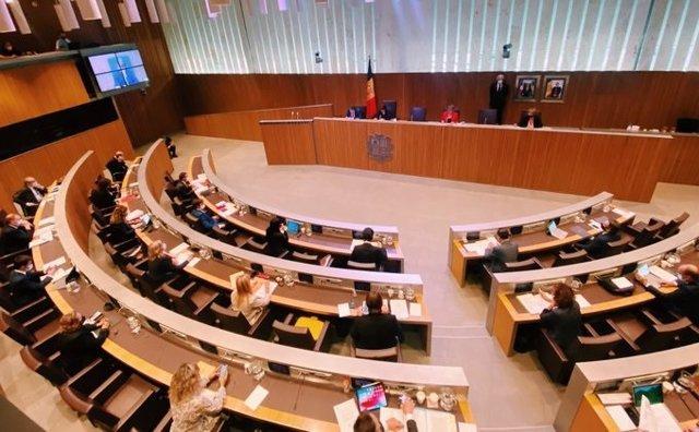 Pleno del Consell General de Andorra