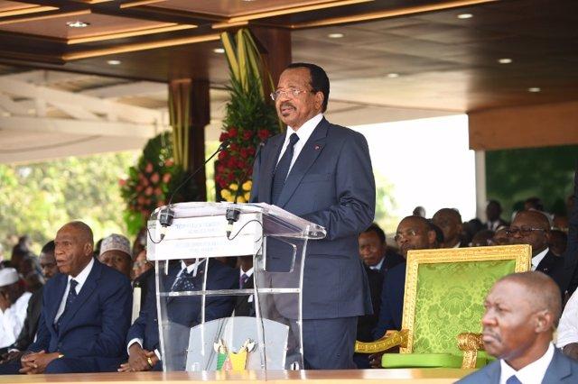 El presidente de Camerún, Paul Biya