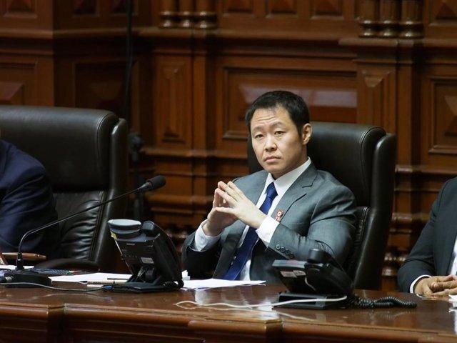 El excongresista del partido político peruano Fuerza Popular, Kenji Fujimori.