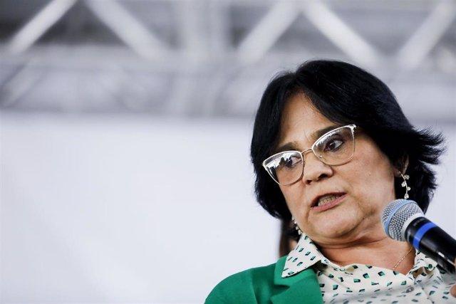 La ministra de la Mujer, la Familia y Derechos Humanos de Brasil, Damares Alves.