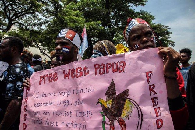 Indonesia.- Al menos dos personas muertas tras un ataque de la guerrilla separat