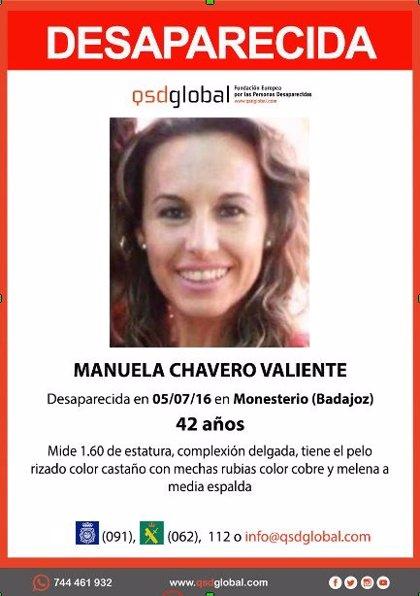 La Guardia Civil practica una detención por la desaparición de Manuela Chavero en Monesterio (Badajoz) hace cuatro años
