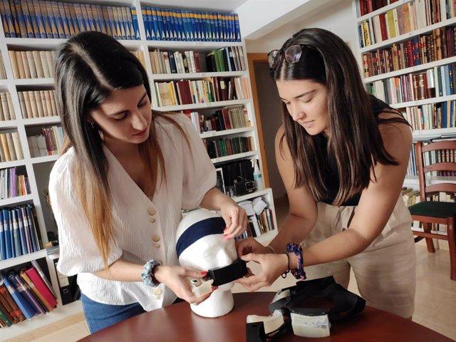 Una mascarilla modular que mejora la ventilación mecánica: el invento de dos alu