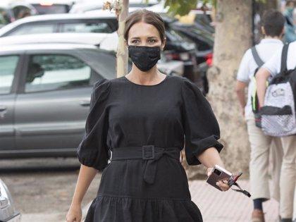 Paula Echevarria, la mami más fashion en la vuelta al cole de Daniella