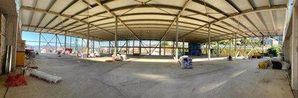 Finaliza la obra de la estructura principal del centro comercial de Vialia Estación de Vigo