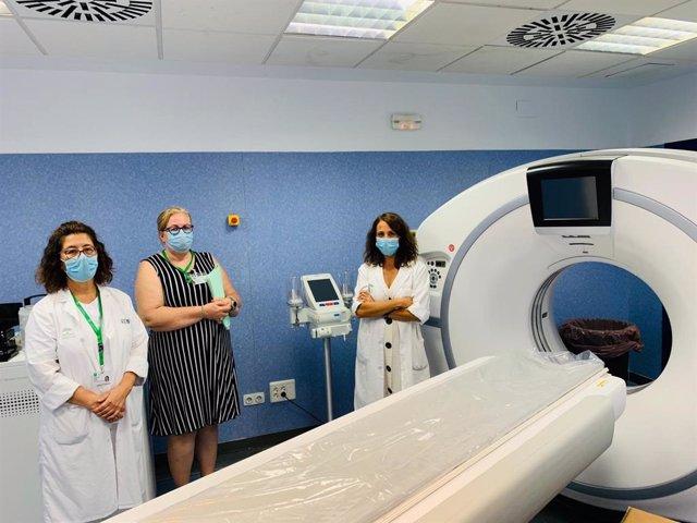 El Hospital Virgen de la Victoria incorpora cuatro nuevos equipos de alta tecnología para la realización de estudios TAC