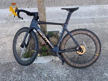 Investigado un vecino de Zizur por el presunto robo de una bicicleta e intentar venderla en un portal online