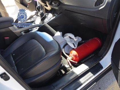 Detenido por robar presuntamente en el interior de, al menos, nueve vehículos en Lorca
