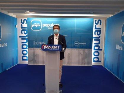 El PP registra una PNL para impulsar la reactivación del sector turístico y la recuperación de Baleares