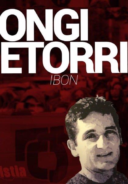 Dignidad y Justicia denuncia ante la Audiencia Nacional el 'ongi etorri' al etarra Ibon Gogeaskoetxea 'Emil' en Bilbao