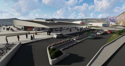 Finalizan las obras de la estructura principal del Centro Vialia en la estación de Vigo-Urzáiz