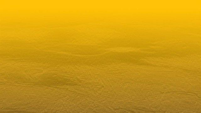 Antiguas rocas plegadas en capas de Venus apuntan al origen volcánico