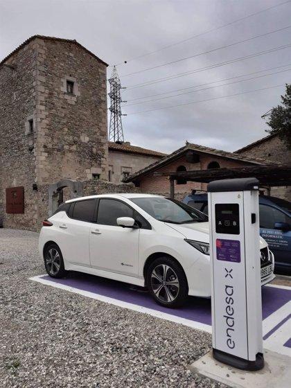 Endesa instala ocho puntos de recarga para vehículos eléctricos en Girona