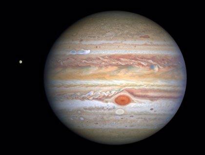 Parte meteorológico de Júpiter ofrecido por el telescopio Hubble