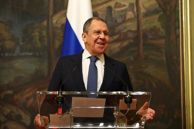 """Rusia.- Lavrov considera """"inadmisible"""" la discriminación de los medios rusos Spu"""
