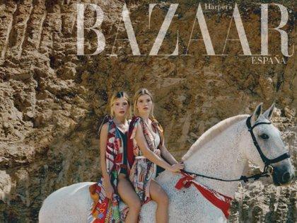 Cristina y Victoria Iglesias, hijas de Julio Iglesias, piden paso con su primera portada de moda