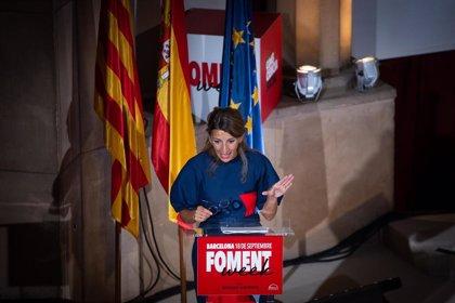 """Díaz anuncia que """"en días verán la luz"""" la regulación del teletrabajo, riders y los reglamentos de igualdad"""