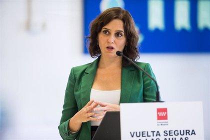 Ayuso retrasa a las 17.00 horas la rueda de prensa donde anunciará las nuevas medidas de restricción para Madrid