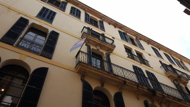 Fachada del centro Flassaders, de Palma.