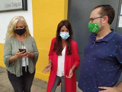 Martina Velarde (Podemos) pide explicaciones a Juanma Moreno por el uso que da a los fondos Covid