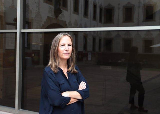L'arquitecta Olga Subirós, comissària de l'exposició 'air/aria/aire' a l'Evento Collaterale della Biennale Architettura 2021 de Venècia, a 18 de setembre de 2020. (Horitzontal)