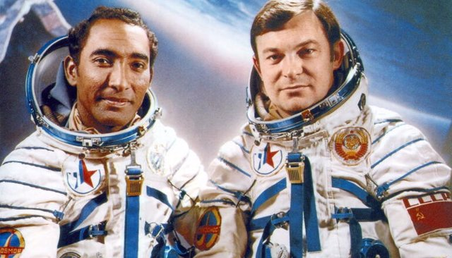 Se cumplen 40 años del primer latinoamericano en el espacio