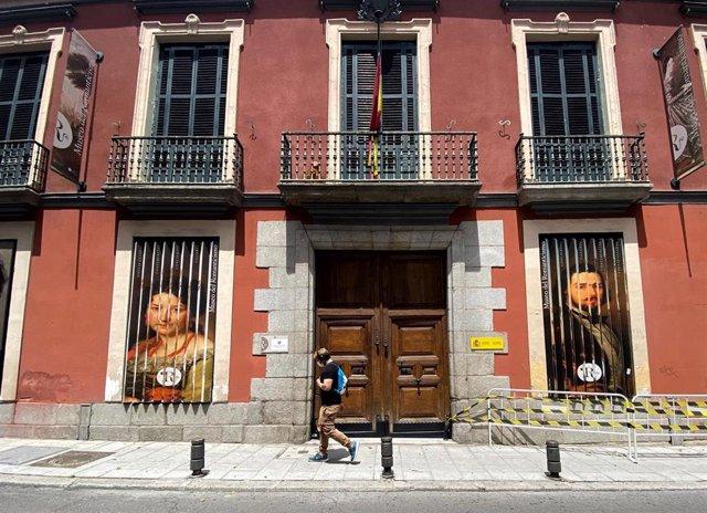 Fachada del Museo Nacional del Romanticismo